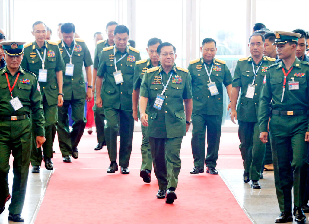 The Min Aung Hlaing's Unfinished Mission of 1942 - Rohingya News, Analysis, Opinion, Evidence and Videos from Rvision